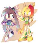 COMM:HIKARI The Echidna and KETRIN The Cat