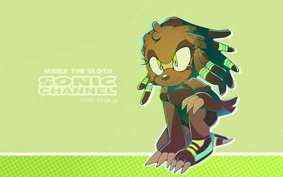 Sonic Channel Maike/Maia wallpaper