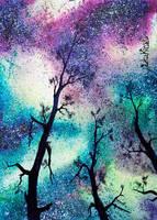 Landscape of Stars 2 by LikaKinsky