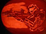 Halo Reach Pumpkin Carving