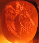 Winged Reaper Pumpkin by MrSultan531