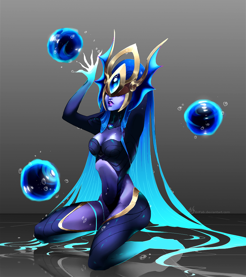 FA || Atlantean Syndra by EriFab