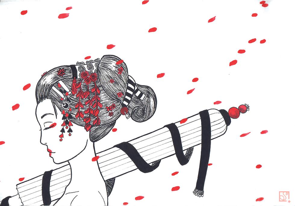 geisha by Sako-Miharu