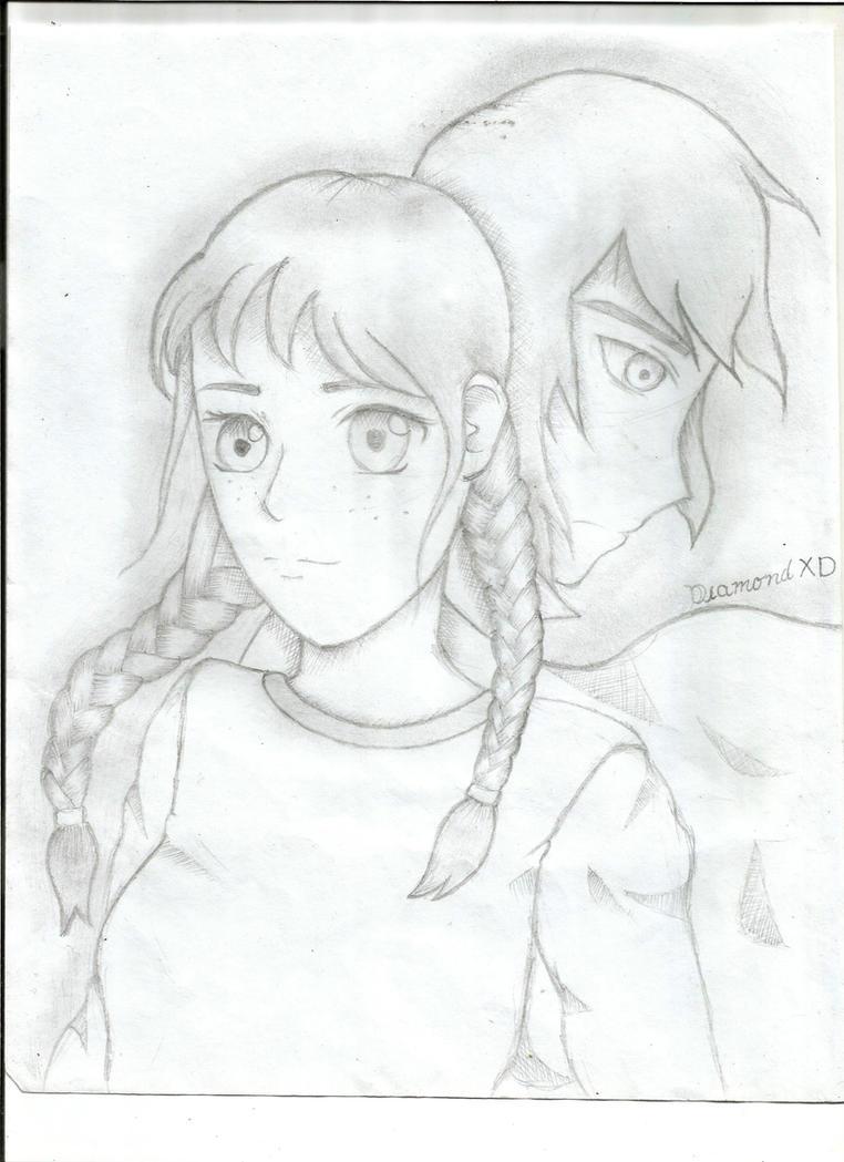 Odette and Derek by DiamondplayerXD