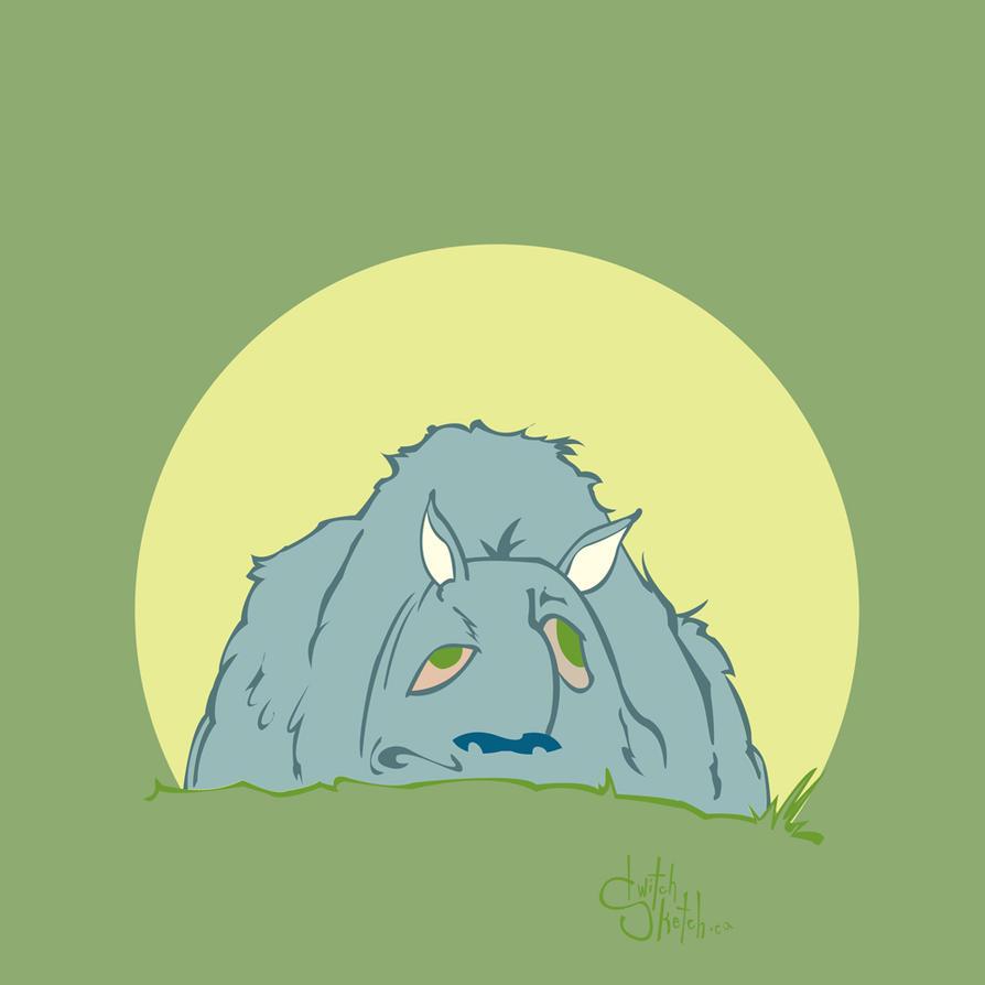 A Mound of Dog by twitchSKETCH