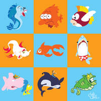 Wedding Fish by twitchSKETCH