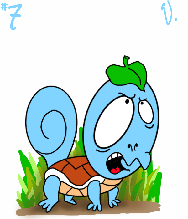 #007 Squirtle by twitchSKETCH