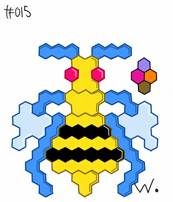 #015 Beedrill by twitchSKETCH