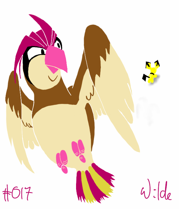 #017 Pidgeotto by twitchSKETCH
