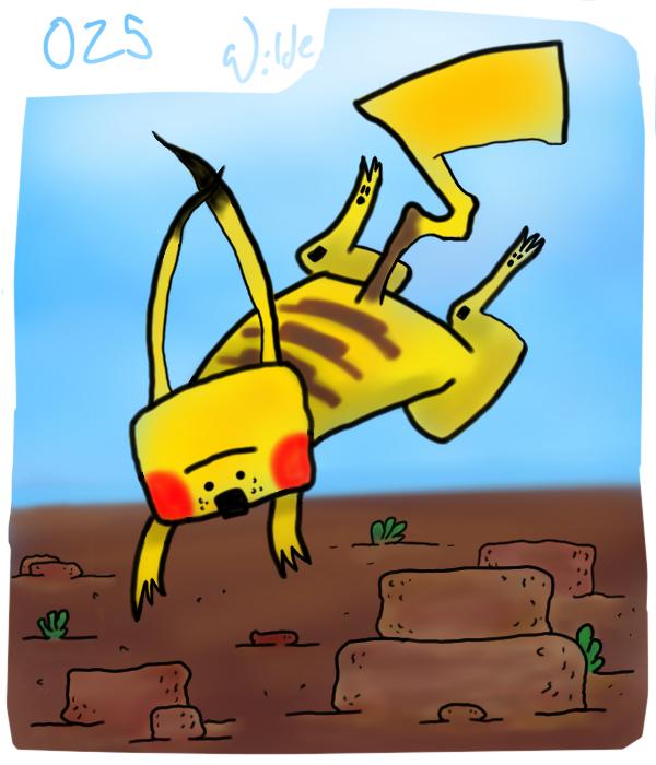 025 Pikachu by twitchSKETCH