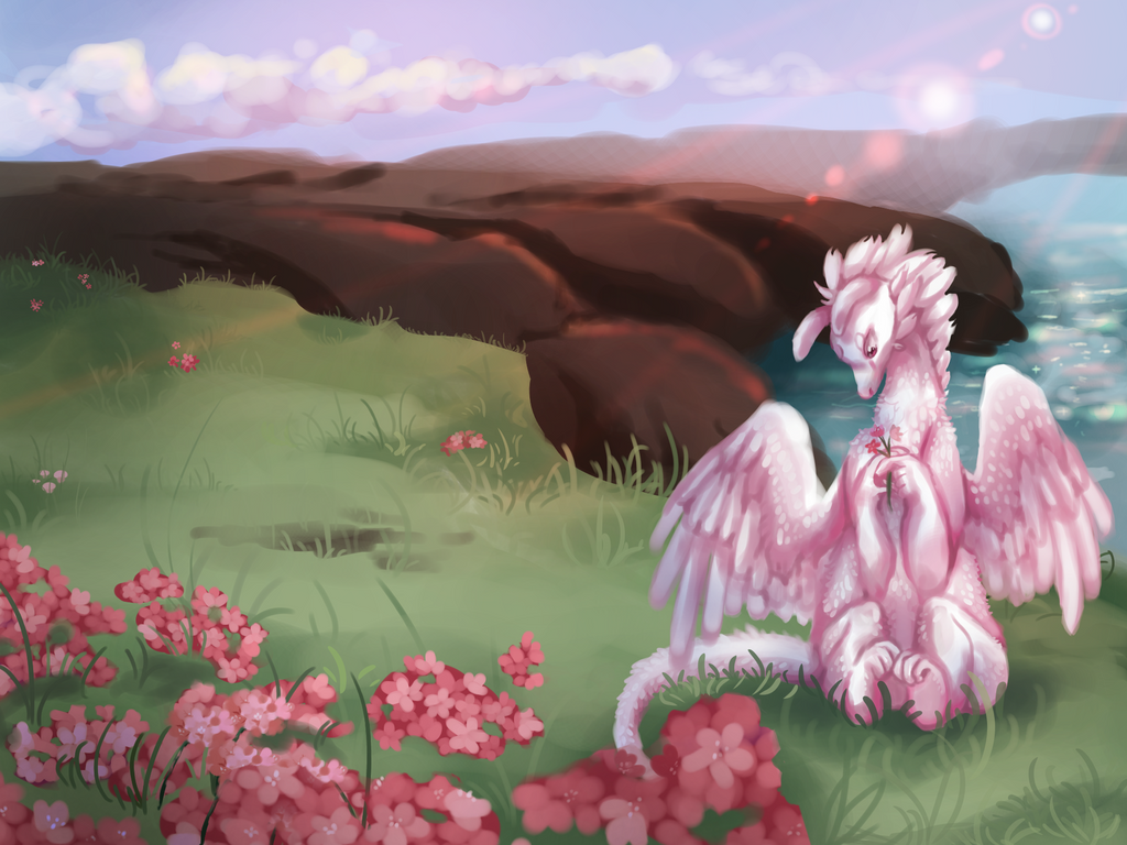 Picking Flowers by Ravynflight