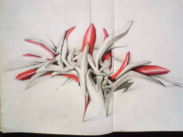 3d on paper by dopeonetwo