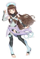 Kobori as Liko from Active Raid