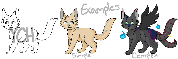 Cat pixel YCH {OPEN} by Zorualover123