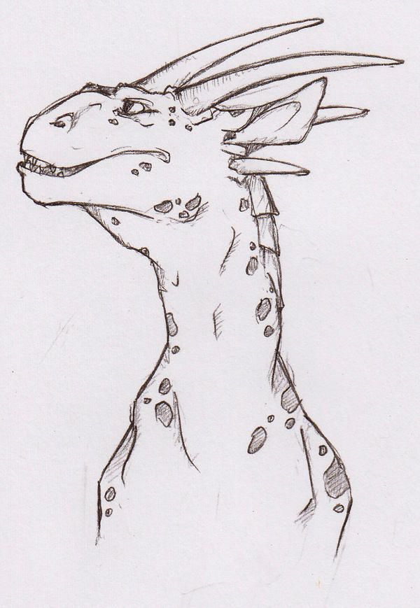 Just dragon by Katy-BlackCat