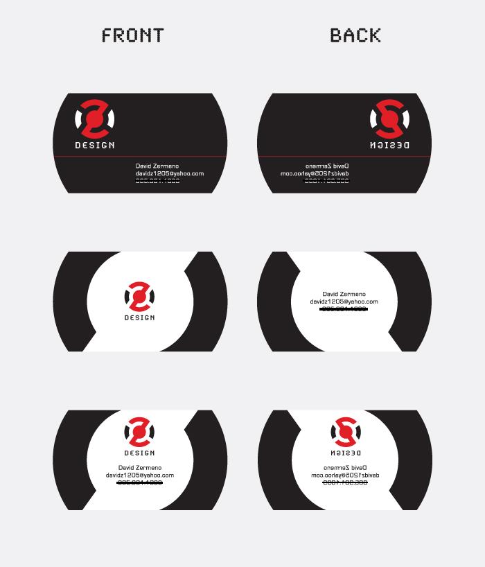 Business Card Concepts By Davidz1205