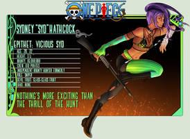 One Piece OC: Syd by TigerBites