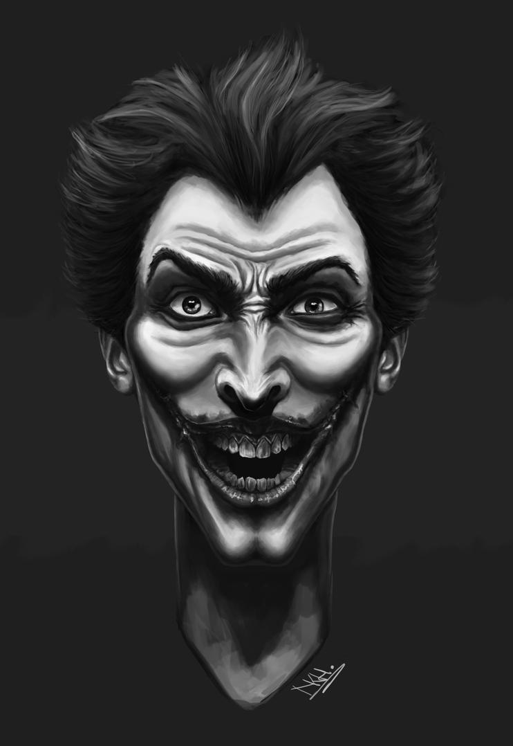 Airbrush Joker Wallpaper: The Joker By NicolaHynes On DeviantArt