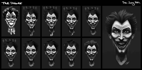 How I did: The Joker