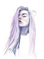 Digital speedpaint portrait by NicolaHynes