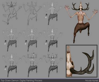Top-Down Character Design: Demon