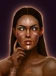 Character Design Portrait Repaint