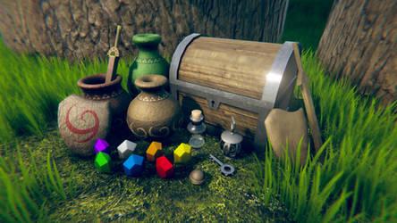 Zelda UO 3 Environment by ThisDarkLight