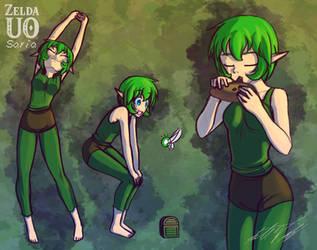 Zelda UO - Saria Concept by ThisDarkLight
