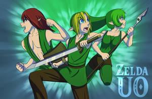 Zelda UO - Deku Trio by ThisDarkLight