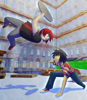 WHOOKOS - Kyo VS Skoot by ThisDarkLight
