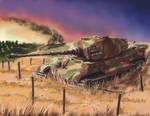 German heavy tank Tiger 2