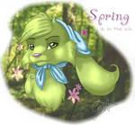 Spring... reminds me of shrek?