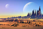 Desert moons
