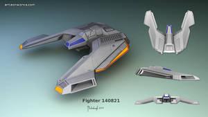 Sci-Fi fighter concept 140821
