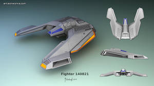 Sci-Fi fighter concept 140821 by Eon-Works