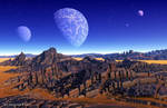 A view from planet Xi7 by Eon-Works