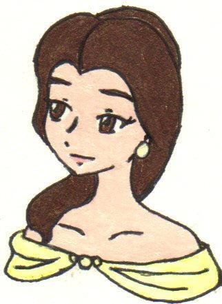 Anime Chibi Belle by Schala85