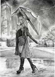 Gwen Stacy Art 2017