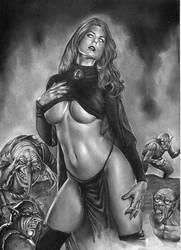 Goblin Queen Art by Rafaschneider2016art