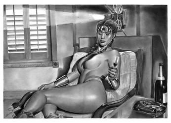 Wonder Woman Art Pinup