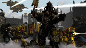 Show them no mercy sons of Dorn