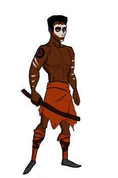 African character design