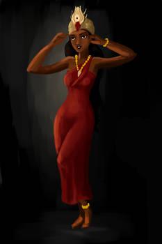 African woman design