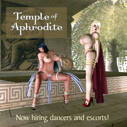 One page ad for the temple of Aphrodite by jewelvoix