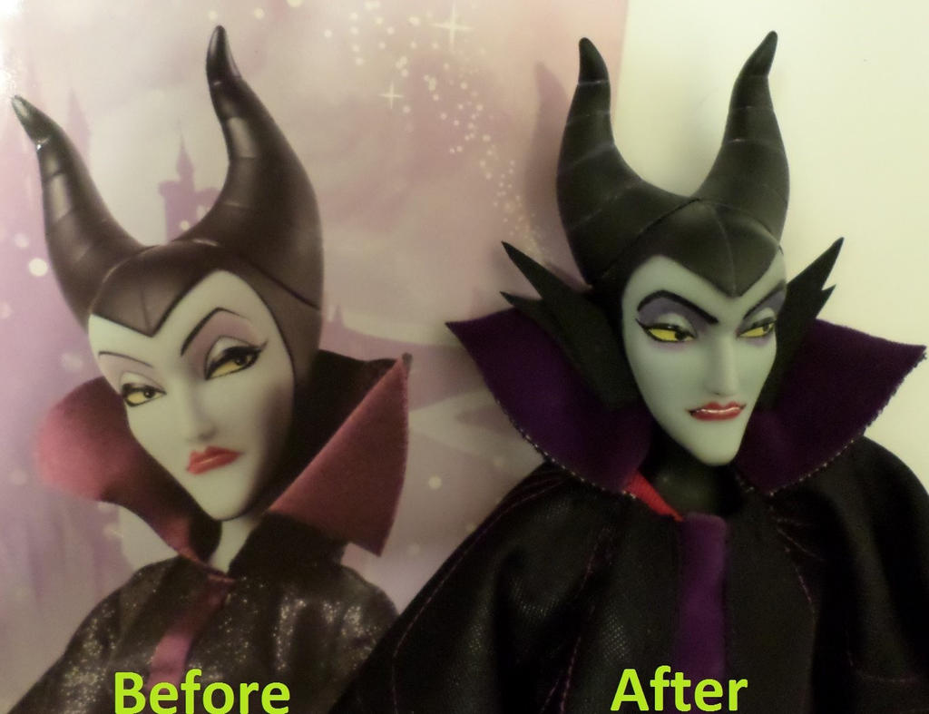 repainted maleficent and prince - photo #21