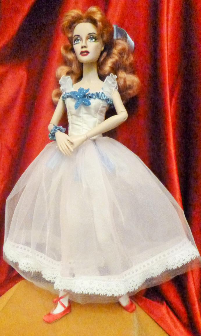 Doll Repaint-Moira Shearer (full-length view) by R-Marie