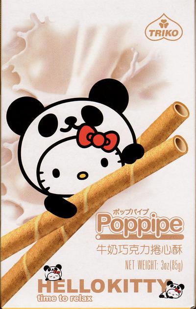 Hello Kitty - 'Poppipe' by Nanthajo