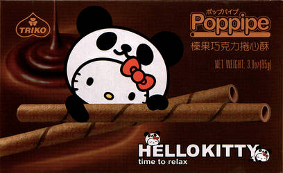 Hello Kitty - 'Poppipe Choco' by Nanthajo