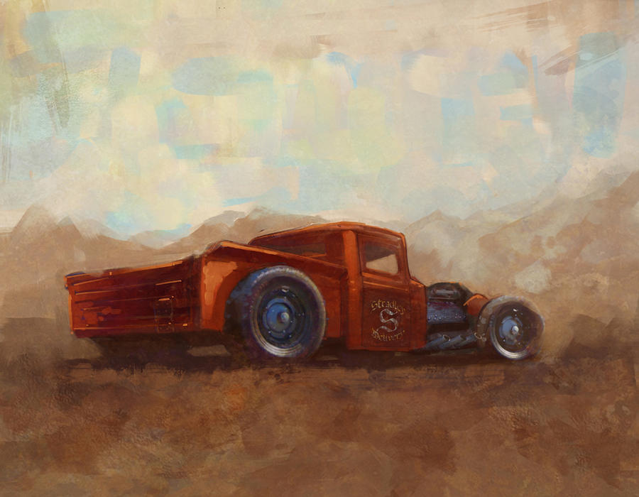 FutureElements Special Delivery Rat rod
