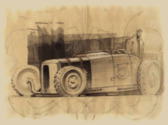 Dirt Track Jalopy by FutureElements